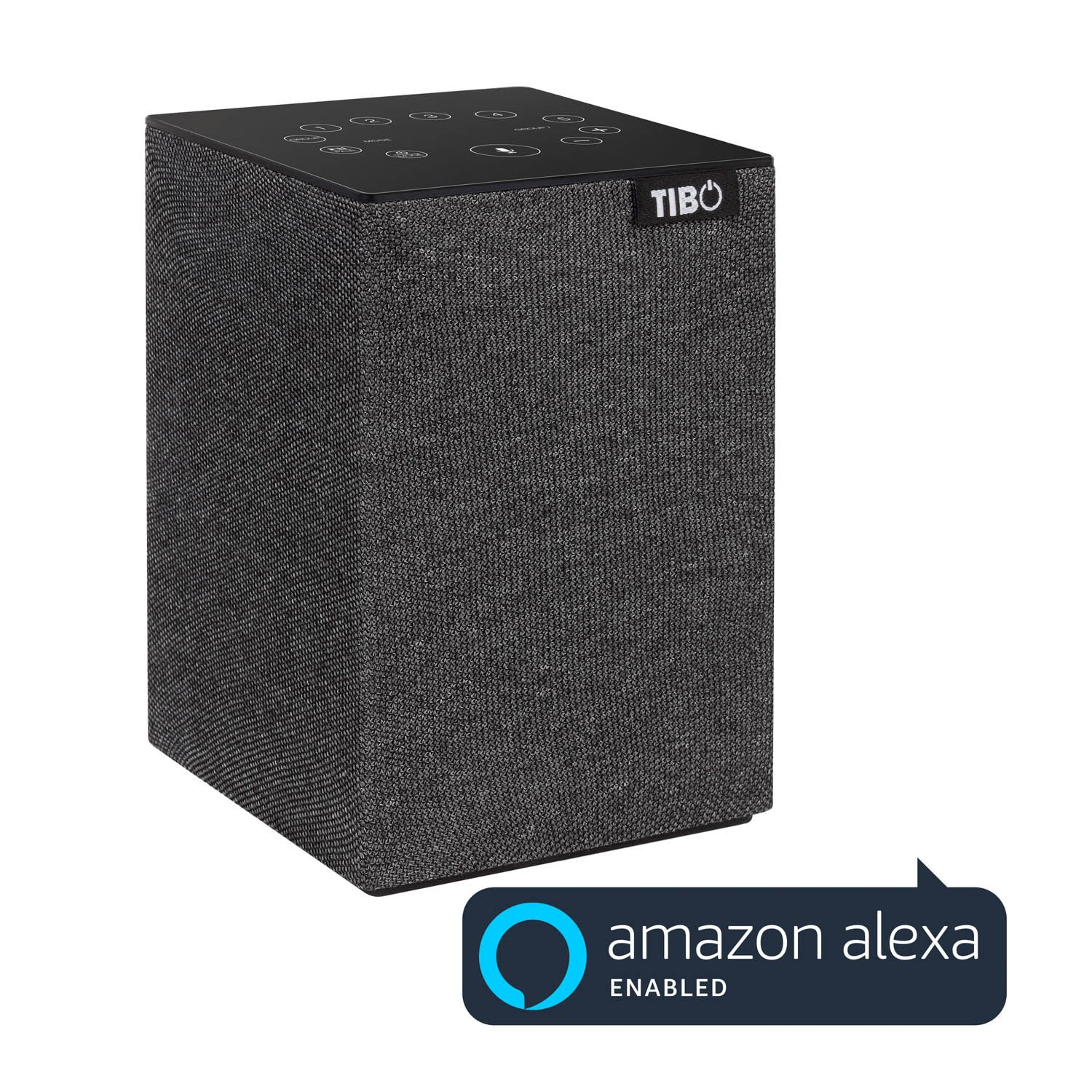 'Tibo Choros Tap Altavoz Multiplay Bluetooth/WiFi para iOS/Android Gris