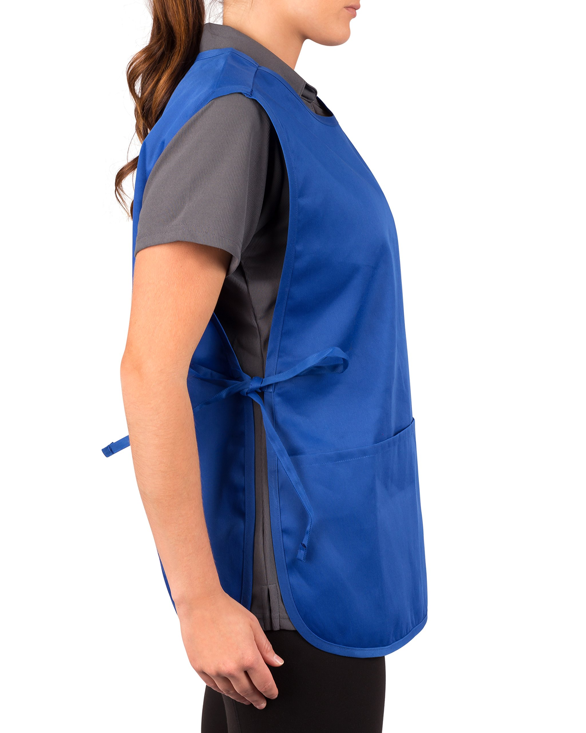 Royal Blue Cobbler Apron, Pack of 36 by KNG (Image #4)