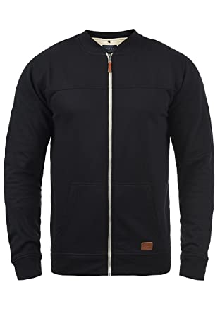 Blend Arco Herren Sweatjacke Collegejacke Cardigan Jacke Mit Stehkragen,  Größe S, Farbe  01925fa29c