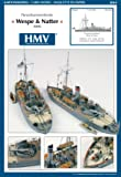 HMV 3044 Cardmodel Armored Steamer SMS Wespe and SMS Natter