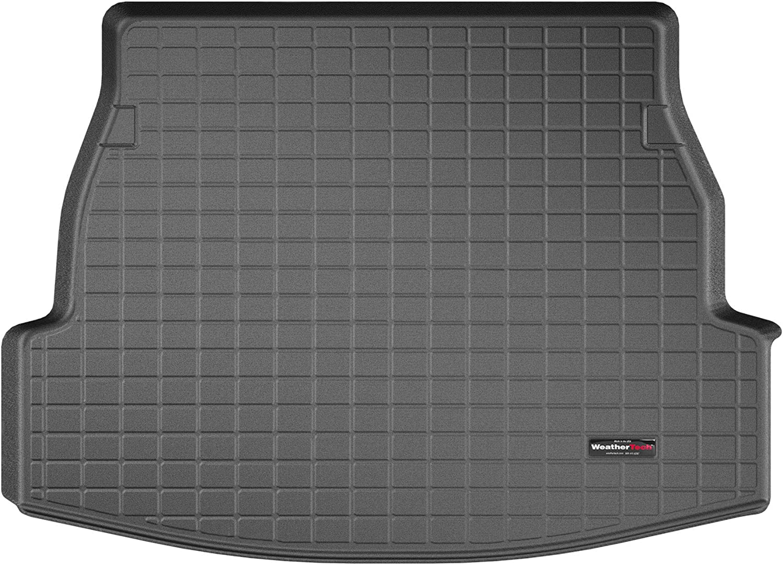 Amazon Com Weathertech Custom Fit Cargo Liner Trunk Mat For Rav4 Rav4 Hybrid 401246 Black Automotive