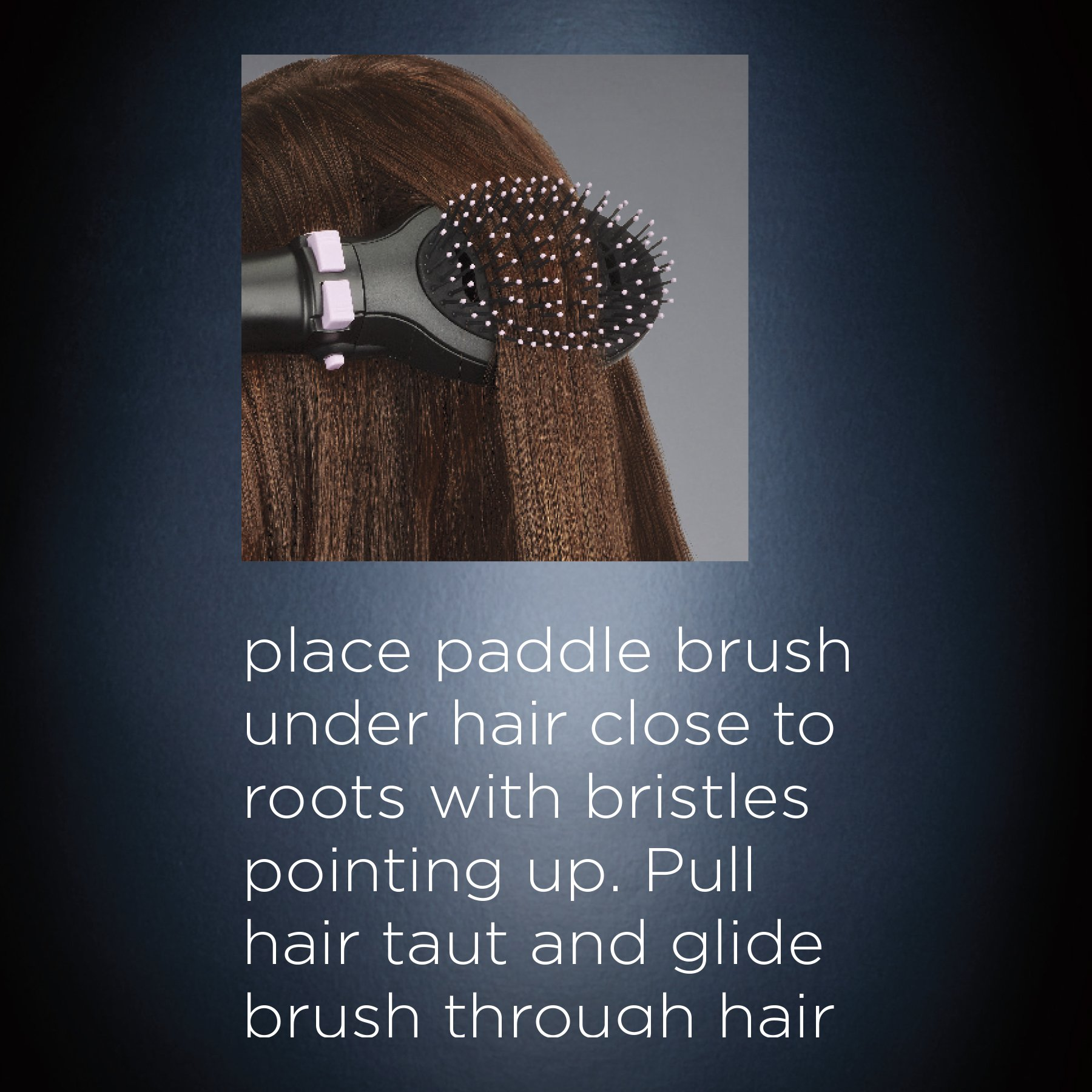 INFINITIPRO BY CONAIR Tourmaline Ceramic Hot Air Brush Styler + Paddle Brush Attachment; Get A Salon Blowout at Home by Conair (Image #6)