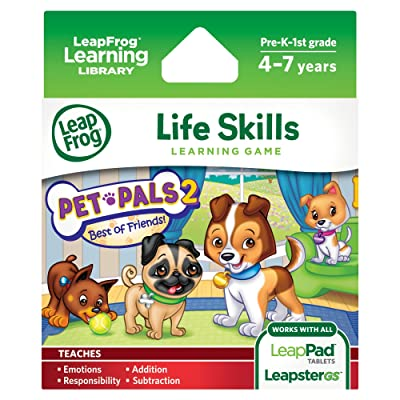 LeapFrog Pet Pals 2 Learning Game (works with LeapPad Tablets, LeapsterGS, and Leapster Explorer): Toys & Games