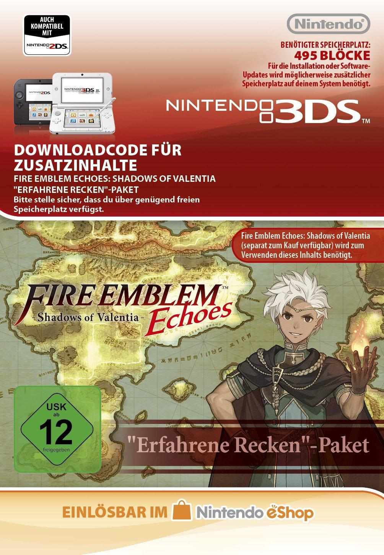 Fire Emblem Echoes: SoV: Cipher Gefährten Paket DLC [3DS Download Code]