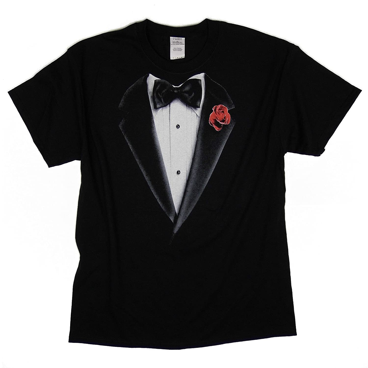 Black t shirt with suit - Tuxedo Dinner Suit T Shirt Black S 5xl Available Amazon Co Uk Clothing