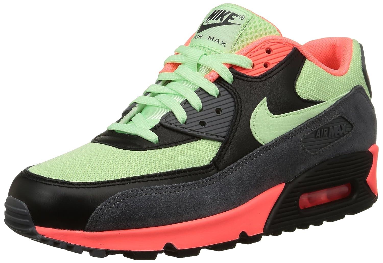 MultiCouleure (Noir Vert Rouge) Nike Air Max 90 Essential, paniers Basses Homme