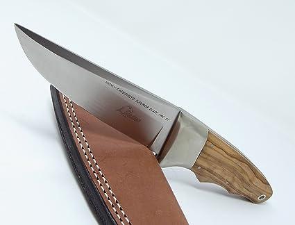 Amazon.com: Italia Falcon Cuchillos Cuchillo de caza con ...