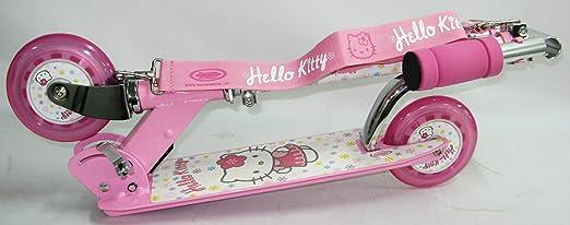 HELLO KITTY - Patinete 2 ruedas + cincha: Amazon.es: Deportes y ...