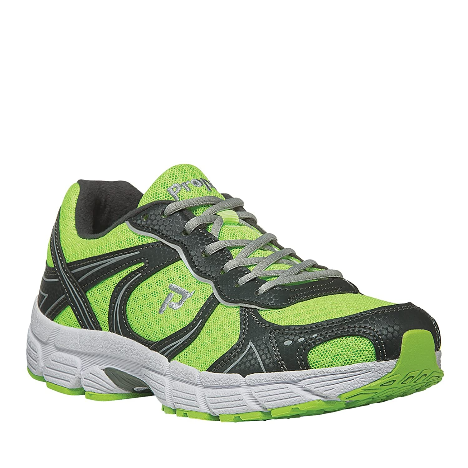 Propet Women's XV550 Walking Shoe B00T9Y470C 8 W US|Lime/Grey