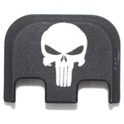 Amazon com : Punisher Tactical Skull Rear Slide Back Plate