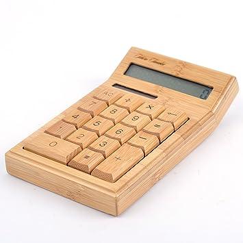 amazon lifesign 名入れ無料 竹製ソーラー式計算機 電卓 ビジネス