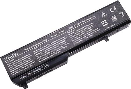 Vhbw Li Ion Akku 4400mah Für Notebook Laptop Dell Elektronik