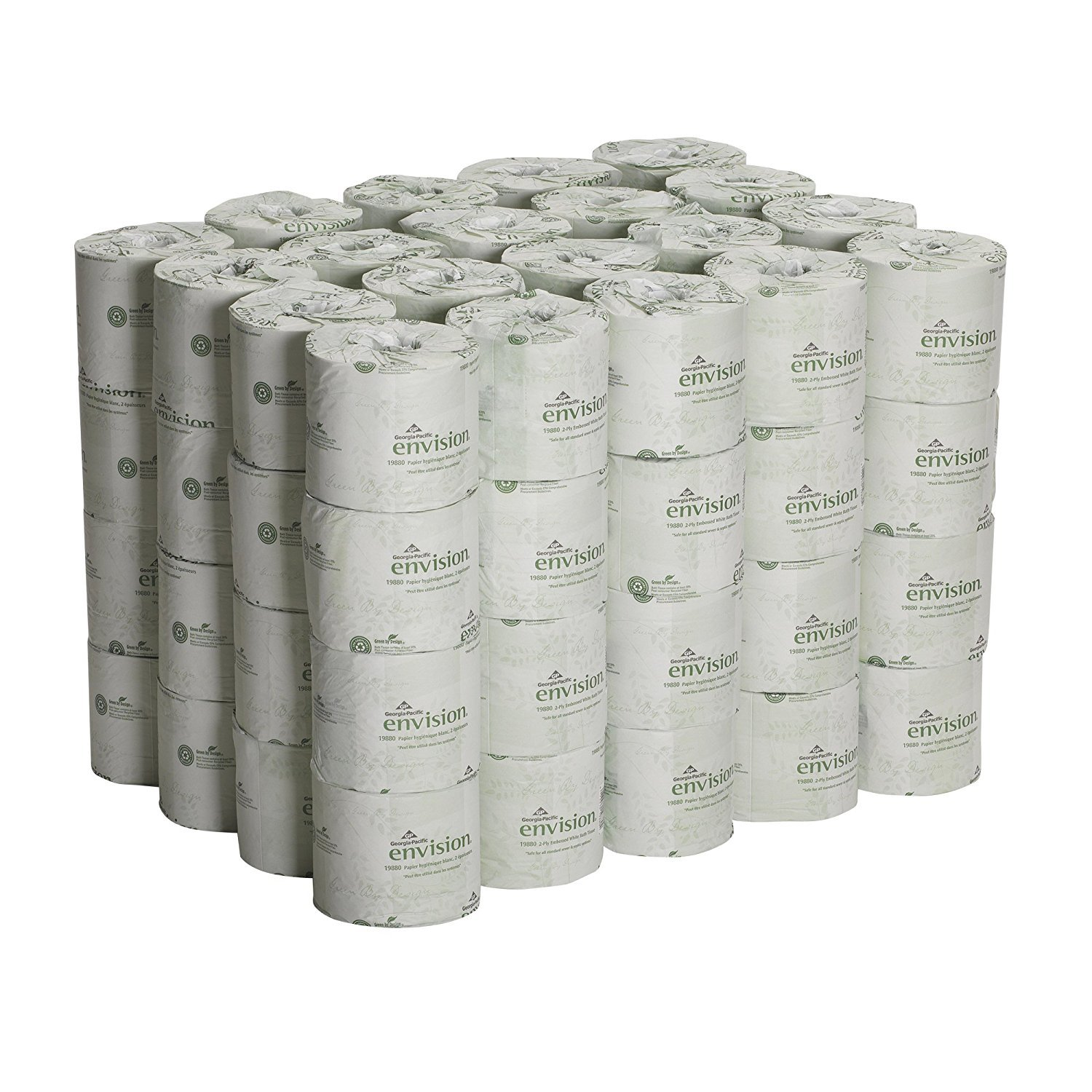 Georgia Pacific dGtbRm Professional 1988001 Bathroom Tissue, 550 Sheets Per Roll, Case of 80, 3 Units by