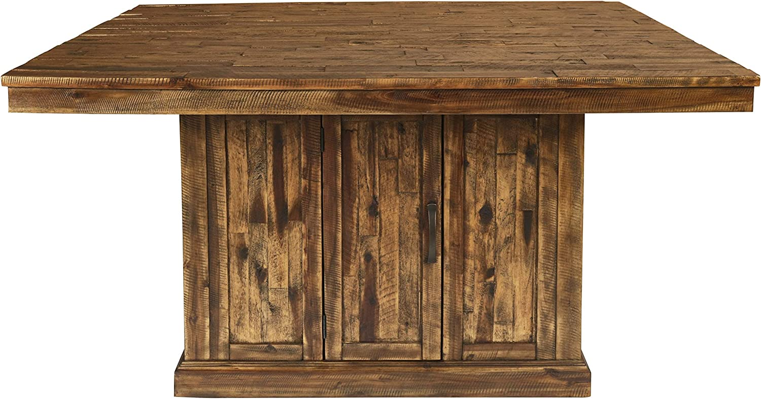 New Classic Furniture Normandy Table, Vintage Distressed