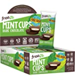 Free2b Foods Dark Chocolate Sun Cups w/ Mint Gluten-Free, Dairy-Free, Nut-Free and Soy-Free - 2-Cups (Pack of 12)