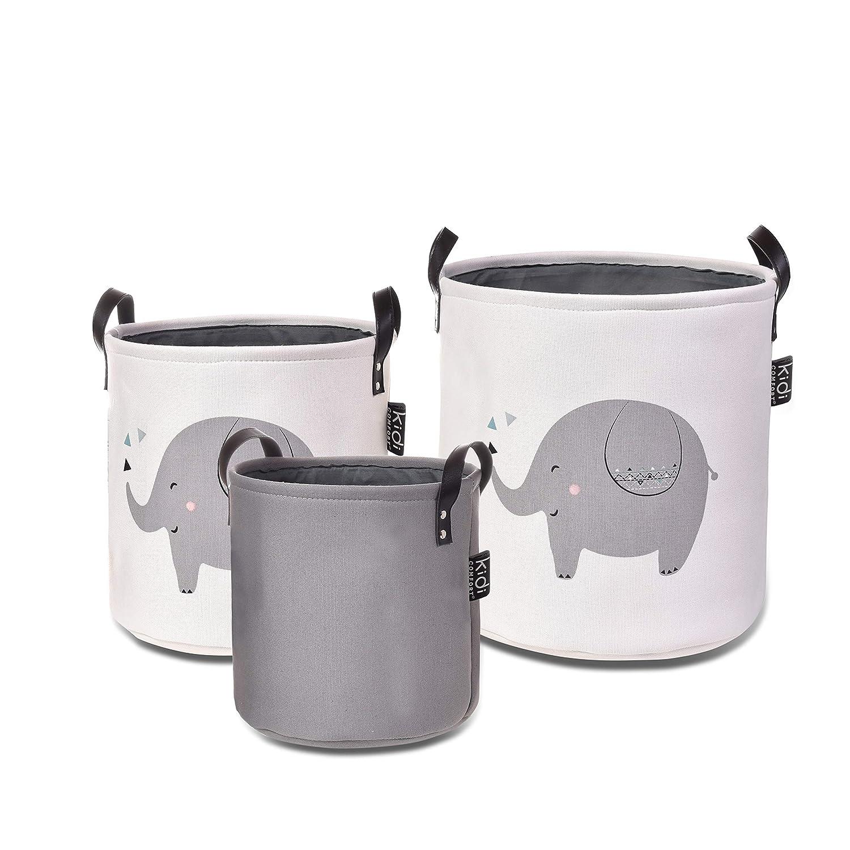 Storage Basket 3 pck (Elephant) KIDICOMFORT