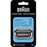 Braun Series 7 73s Electric Shaver Head, Silver Designed for Series 7 shavers (New Generation), 1 Count