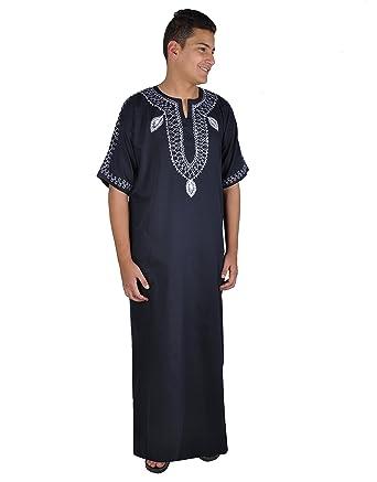 ce1bafae35bab8 Egypt Bazar Moderner Herren-Kaftan Hauskleid