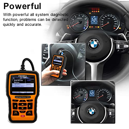 Foxwell NT510 BMW full-system scan tool.