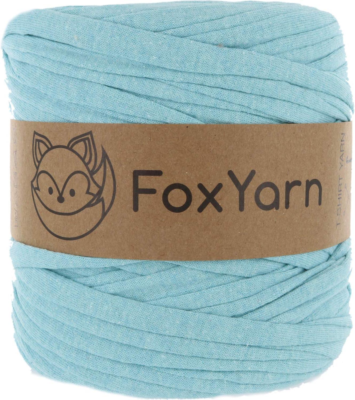 T-Shirt Yarn Cotton Fettuccini Zpagetti - Sewing Knitting Crochet T Shirt Yarn - 100 Meter - (Mint)