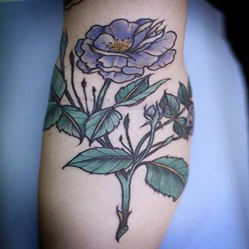 Floral Tatto Design Ideas Vol 2