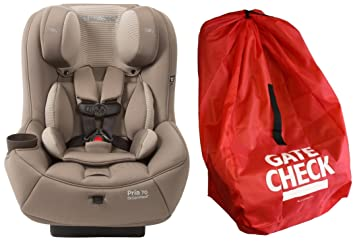 Maxi Cosi Pria 70 Convertible Car Seat With Easy Clean Fabric And Gate Check Bag