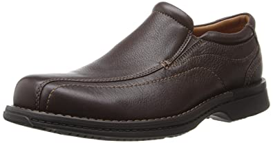 Rockport Men's Classic Slip-On Brown Tumbled Pull Up 8.5 M (D)-