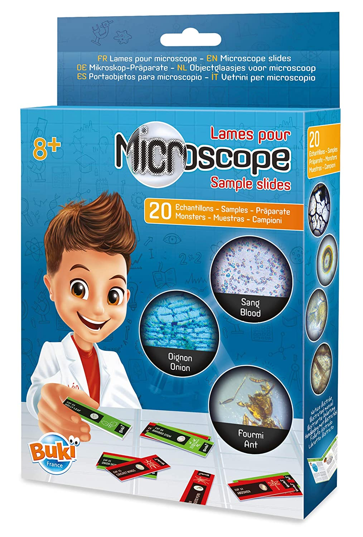 Buki France Portaobjetos para Microscopio Color (MR001