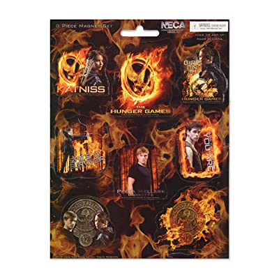 The Hunger Games Movie - 8 Piece Magnet Set: Toys & Games