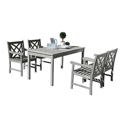 Vifah Patio Furniture.Vifah V1297set11 Renaissance Outdoor Furniture Amazon Ca Patio