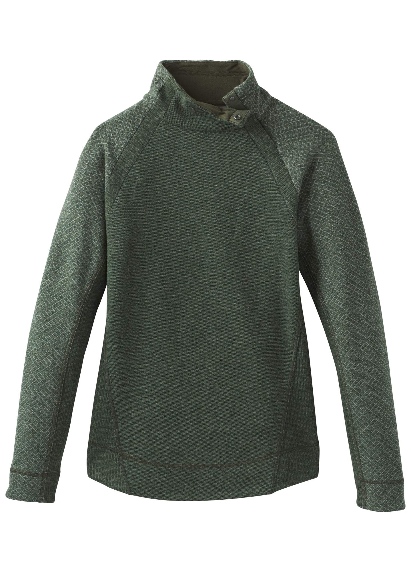 prAna Women's Brandie Sweater, Rye Green Heather, Small by prAna