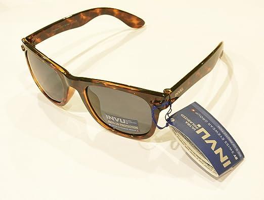 Gafas de sol polarizadas niño/a adulto Viso pequeño INVU K 2417 B Marrón Tortuga