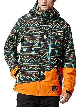 De O'neill Ski Blue Aop WblueAmazon Veste Pm S Satellite Jacket ukOPZiX