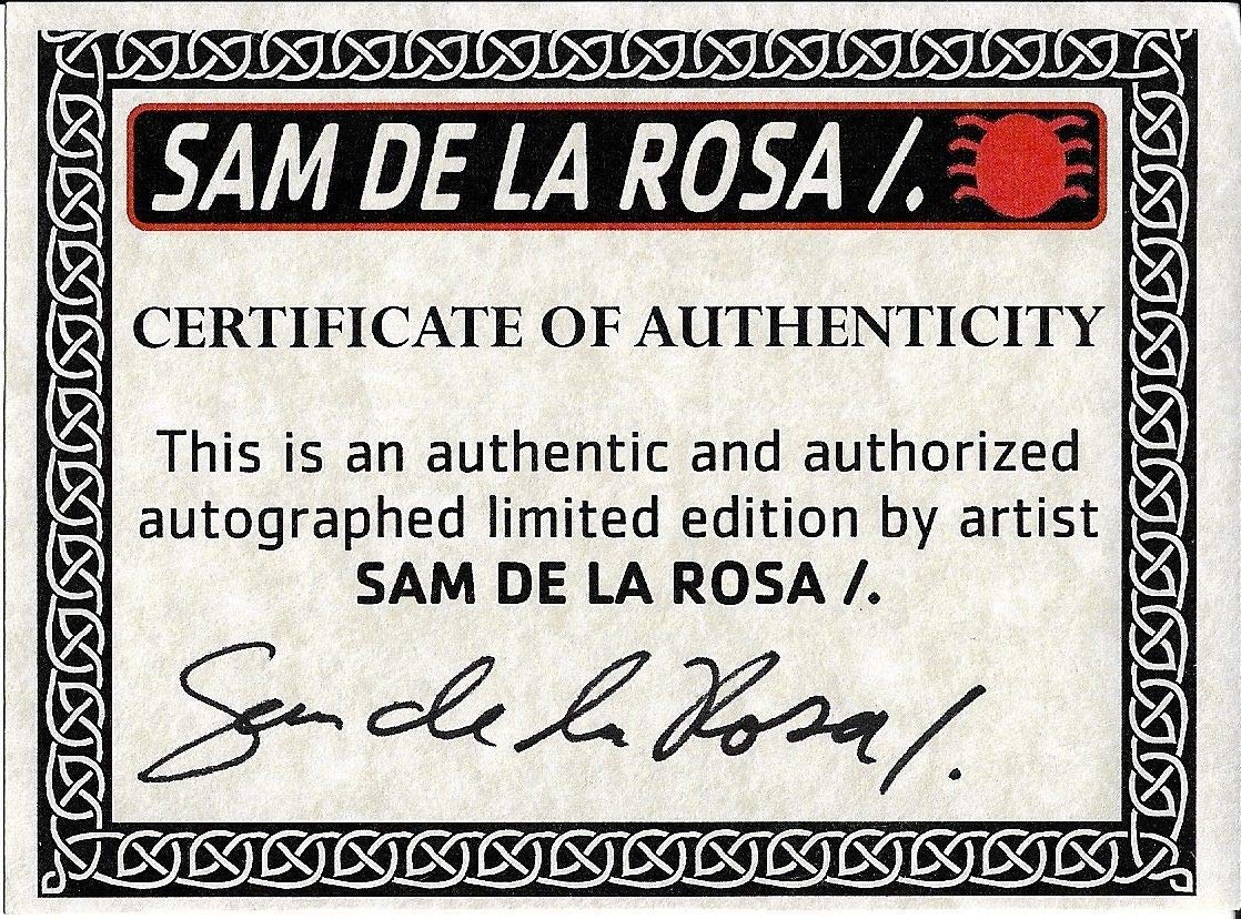 Sam De La Rosa Autographed Signed Venom 150th Issue Marvel Comic Book With Sketch Certified Authentic