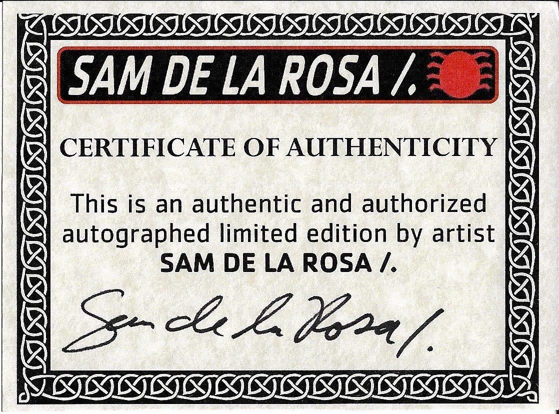 Sam De La Rosa Autographed Signed The Amazing Spider Man Autographed Signed #700 Marvel Comic Book W Sketch 2 Certified Authentic