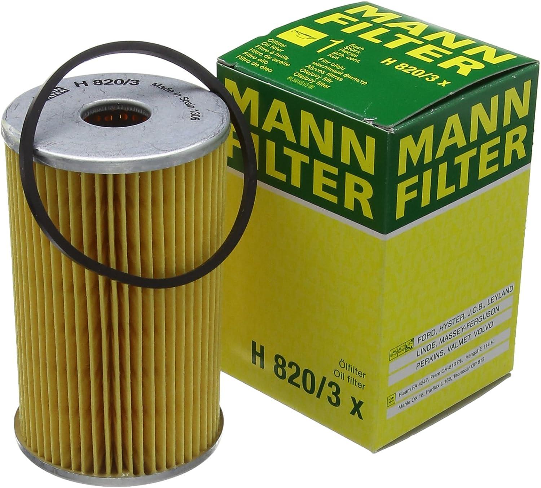Mann Filter Oil Filter H820//3X