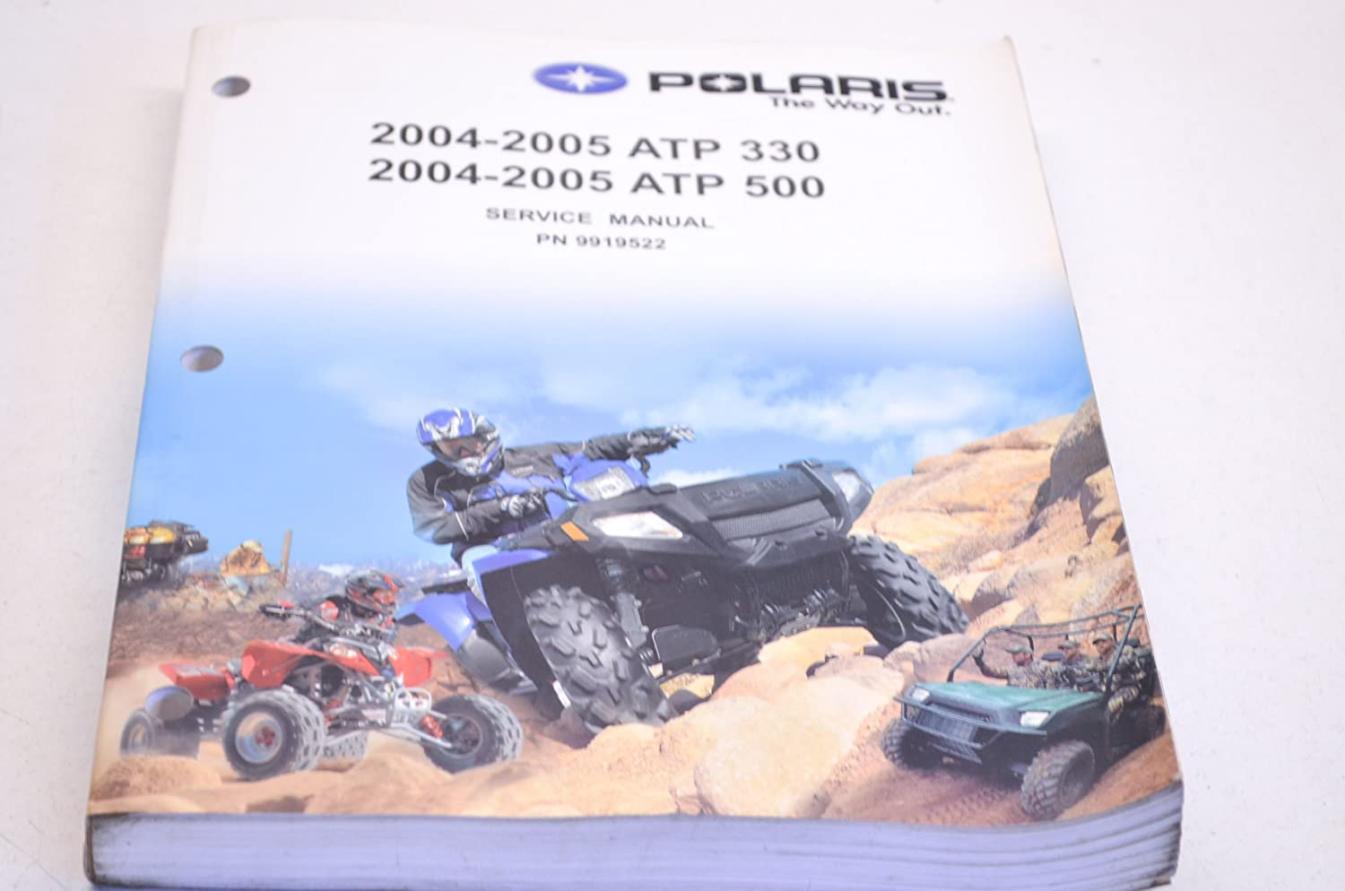 Amazon.com: Polaris 2005 05 ATV ATP 330 500 4x4 Camo Service Shop Manual  9919522 New OEM: Automotive