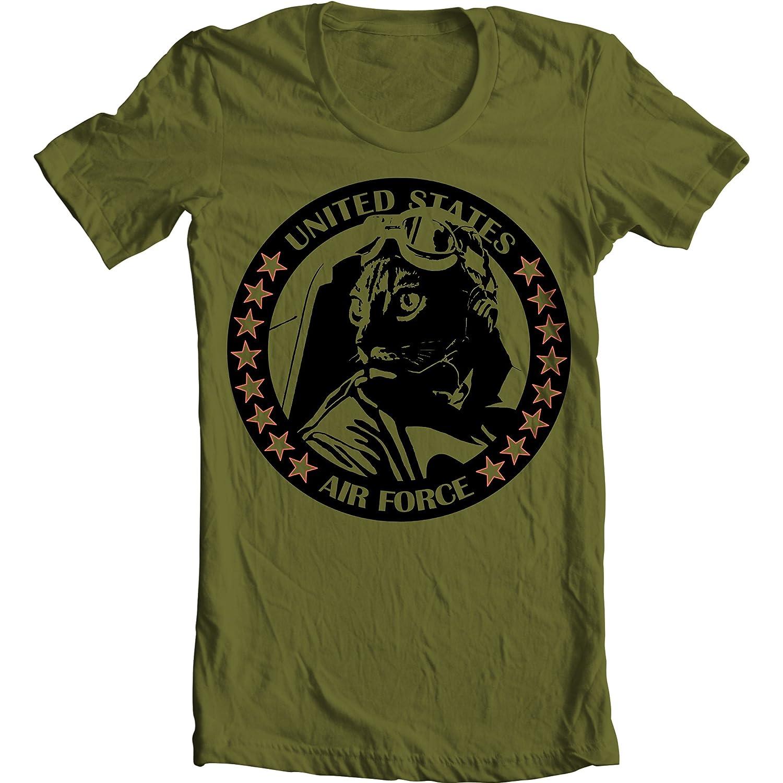 Amazon.com  Air Force Shirt – Pilot Shirt – Military Green Shirt – Olive  Green Tshirt  Clothing a8fbce534d8