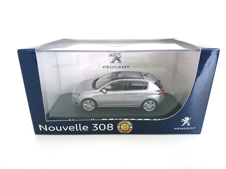 Peugeot 308 Grise 1/43 NOREV réf: 473808: Amazon.es: Juguetes y juegos