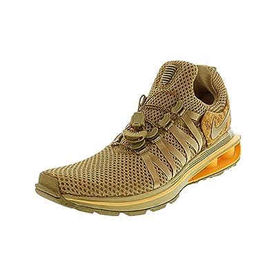 Nike Shox Gravity Running Shoe - 9M - Metallic Gold/Metallic Gold | Road Running