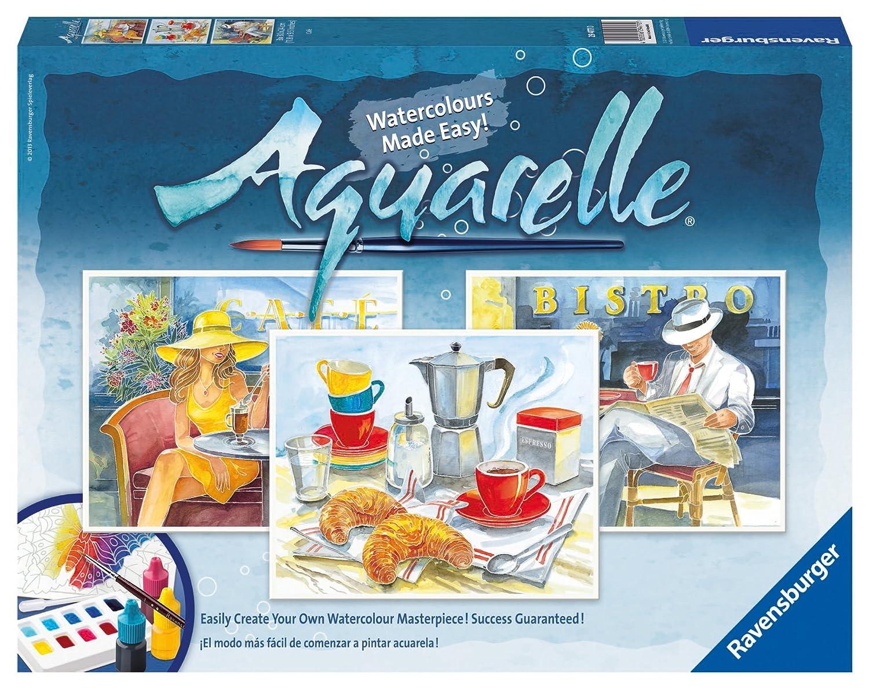 Ravensburger Aquarelle Cafe kunst und Handwerk Kit