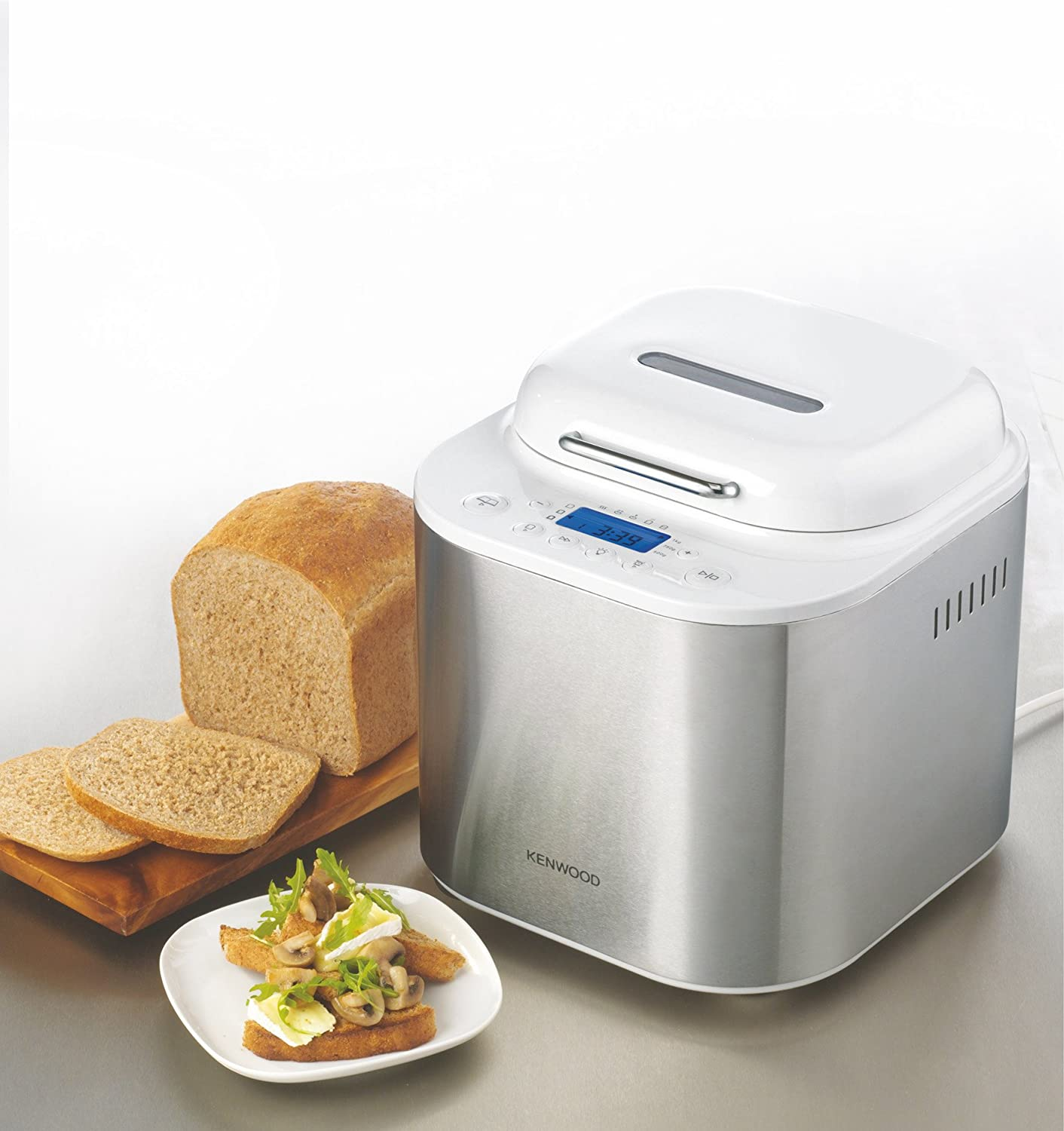 Kenwood - Panificadora Bm366 Breadmaker + Fan Eu Pl Int: Amazon.es: Hogar