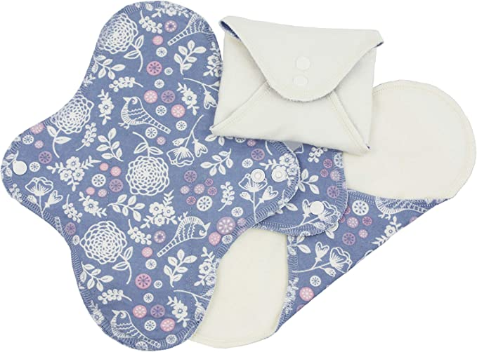 ImseVimse 3 compresas lavables para Dia (Panty Size: 9x20) Diseño ...