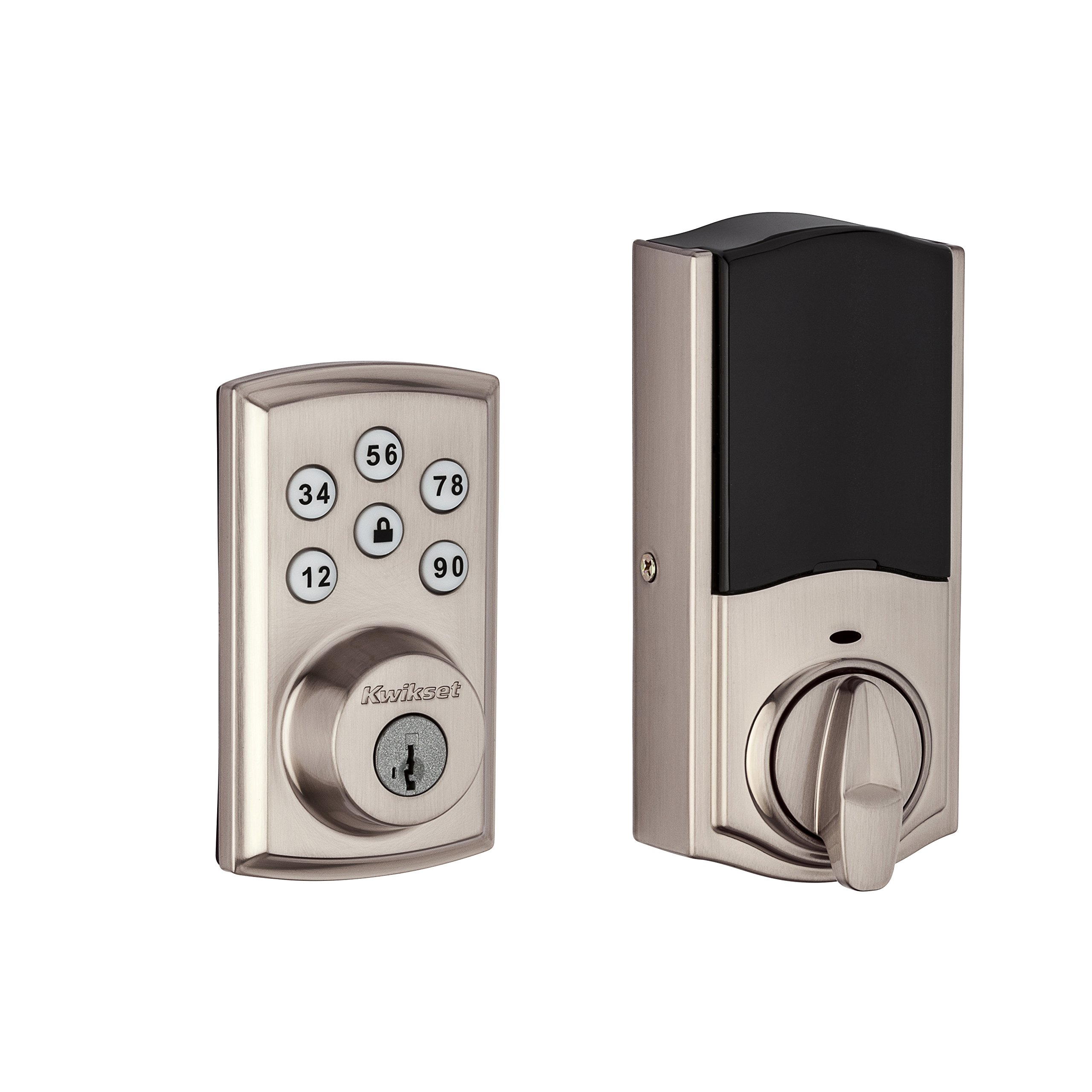 Kwikset 888ZW500-15S Smartcode 888 Electronic Deadbolt with Z-Wave Technology by Kwikset (Image #3)