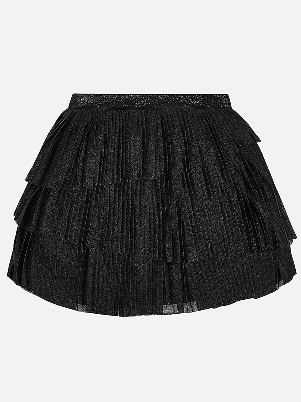 Mayoral Pleaded Skirt for Girls 7902 Black