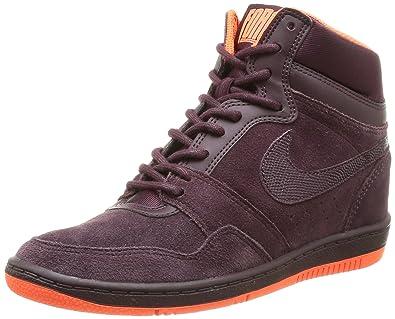 sélection premium bcbc5 95077 Nike Force Sky Hi Premium, Baskets mode femme - Violet (Wmns ...