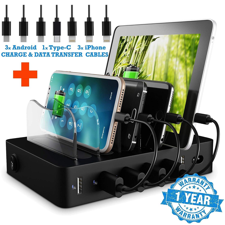 Amazon.com: Micro USB Charging Station Port - Fast iPhone Samsung ...