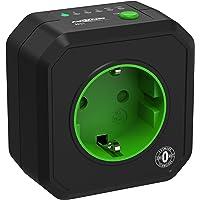 ANSMANN Timer stopcontact AES1 - schakelbaar energiebesparend stopcontact met countdown timer voor ventilatorkachels…