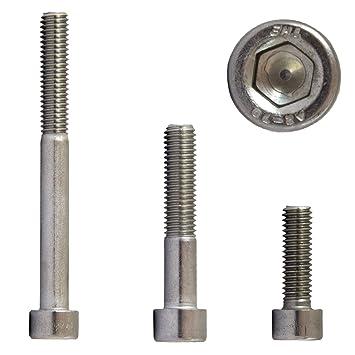 Zylinderkopfschrauben DIN 912 A2  Edelstahl M3 M3x30 50 St Innensechskant