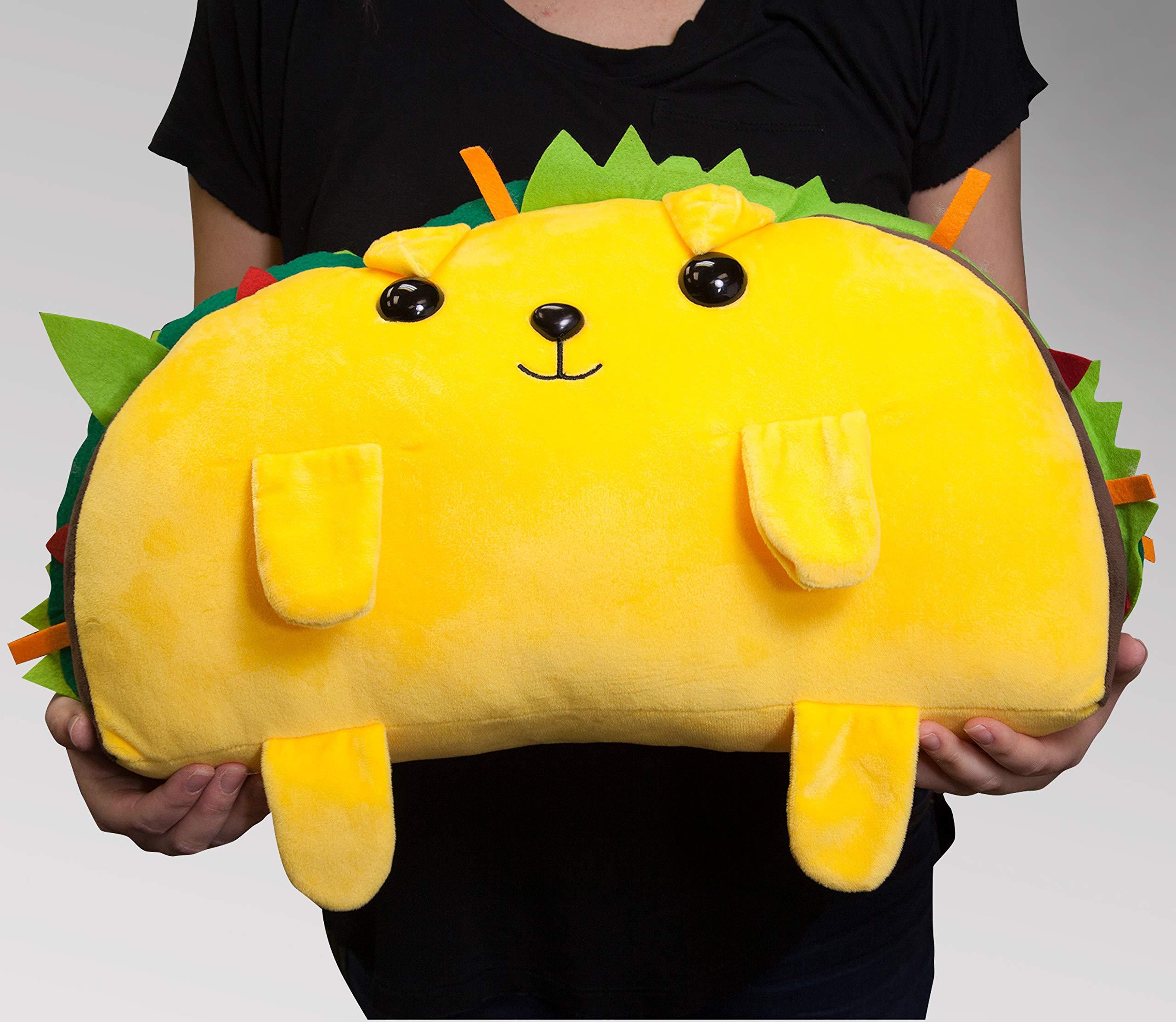Basic Fun Exploding Kittens Tacocat Jumbo Super Soft Plush